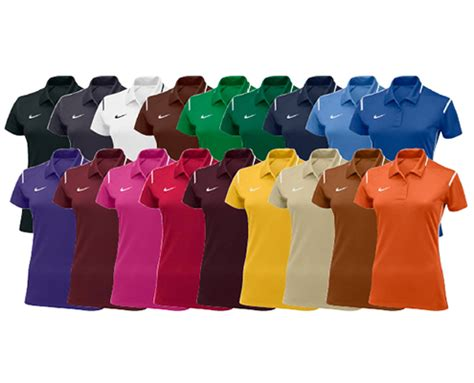 Nike Womens Team Gameday Polo Dri Fit 100 Original 1 coach s polos from wave one sports