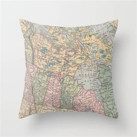 Throw Pillows Canada by Oh Canada Throw Pillow By Catherine Holcombe