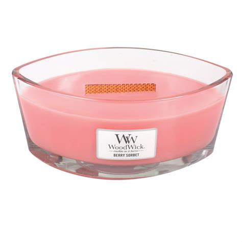 woodwork candles berry sorbet woodwick candle 16 oz hearthwick