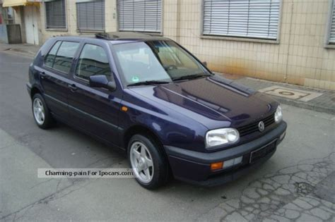 1995 volkswagen golf 3 pictures 1800cc gasoline ff manual for sale volkswagen golf 1 6 1995 technical specifications interior and exterior photo