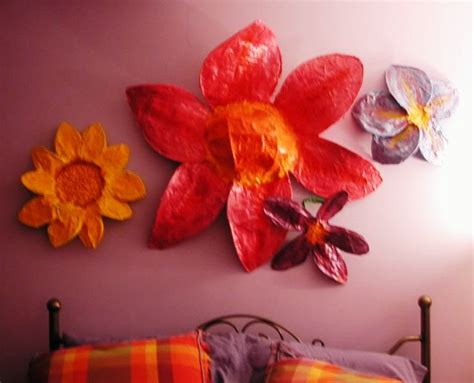 How To Make Paper Mache Flowers - happy paper mache flowers w tutorial
