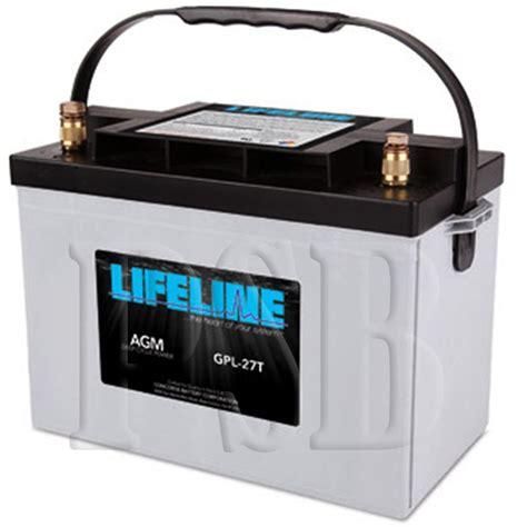 Susumu Suzukis Water Powered Battery by Gpl 27t Lifeline Oem 12 Volt 100ah 27 Sealed Agm
