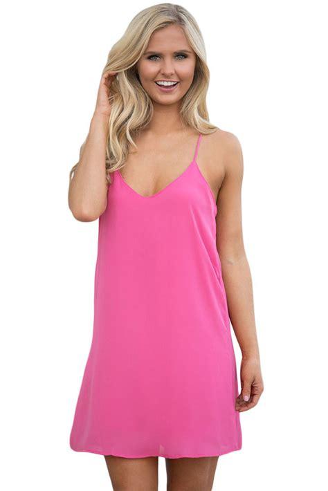 hot pink swing dress us 4 83 hot pink summer days swing short dress dropshipping