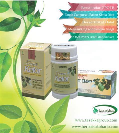 produk obat herbal tazakka ekstrak daun kelor alami aman