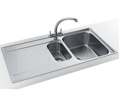 franke maris slim top propack mrx 251 stainless steel sink