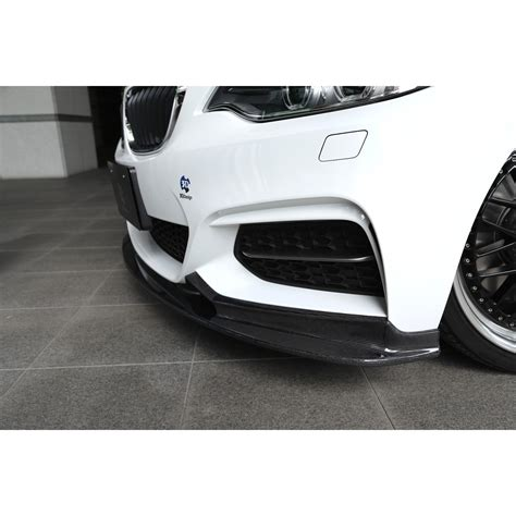 Bmw 2er Frontlippe cfd 3ddesign carbon frontlippe f 252 r bmw f22 mit m paket