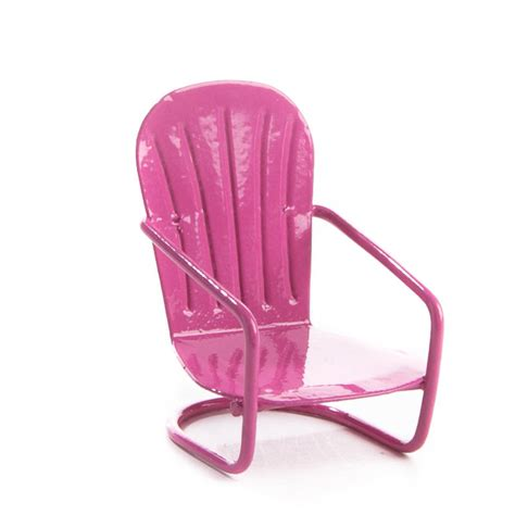 pink patio furniture miniature pink patio chair new items