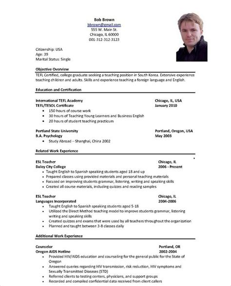 Fluent In Spanish Resume Sample by