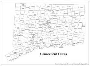 printable map of cities and towns state of connecticut map printable towns