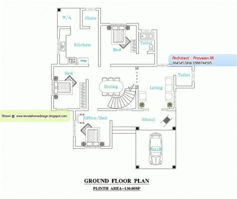 kerala home design floor plan and elevation remarkable floor plan and elevation 2277 sq ft house