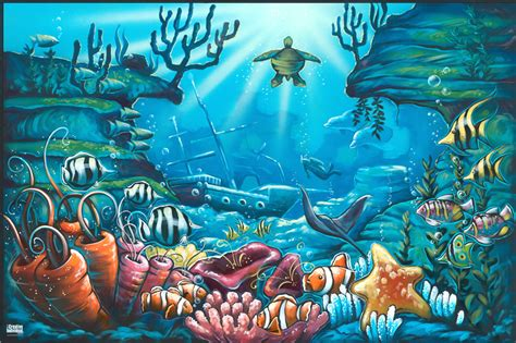 the sea wall mural wall decal quotes wall mural ideas for the sea