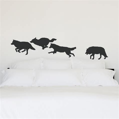 Design Own Wall Sticker wolf pack wall decal