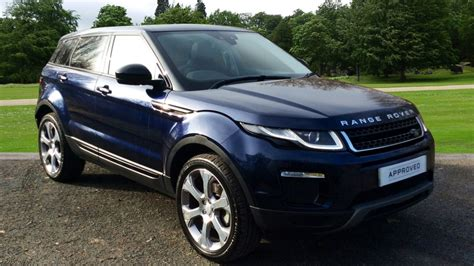 range rover evoque blue used land rover range rover evoque blue cars for sale