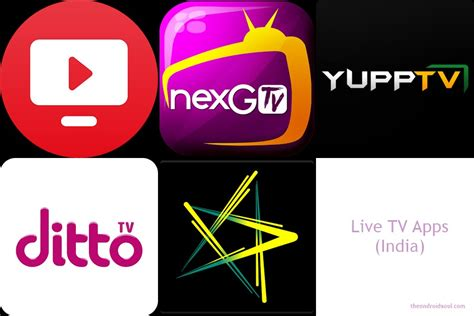 Android Live Tv Apps by Android Apps To Help You Tv Shows On Android
