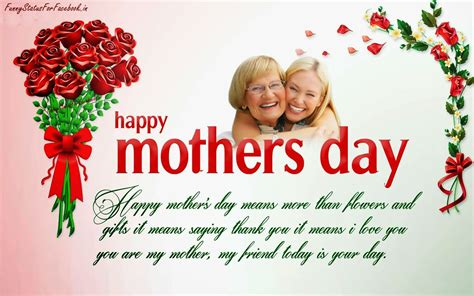 happy day message in happy mothers day quotes greeting cards wallpapers with