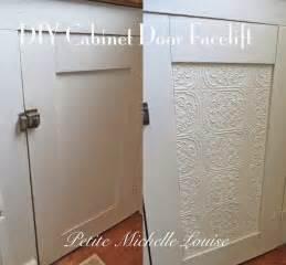 louise diy cabinet door facelift