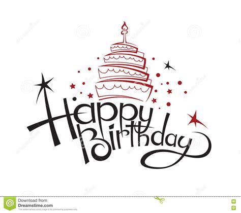 happy birthday card design art birthday card design stock vector image of greeting
