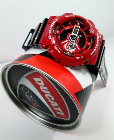 Casio G Shock Ga 110 Serie Ducati live photos g shock ga 110 custom ducati