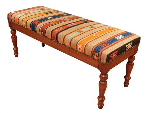 Rug Bench by Kilim Rug Bench Rugs Ideas