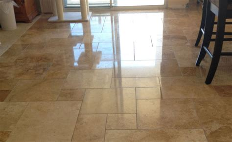 travertine floor saved stripped and refinished san diego ca