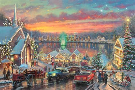lights of christmastown the limited edition art
