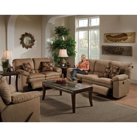 Set Sofa Cafe impulse 3 reclining sofa set in cafe and espresso
