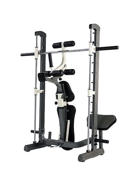 compact bench press tunturi pure compact smith machine weight bench with fold