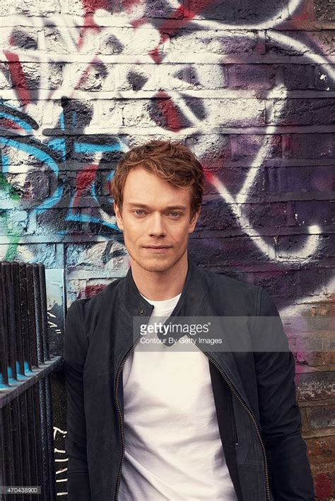 liverpool actor game of thrones actor alfie allen is photographed on march 12 2015 in