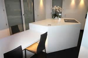Exceptionnel Table Salle A Manger Haute #6: 4.ilot-de-cuisine-avec-table-integree.jpg