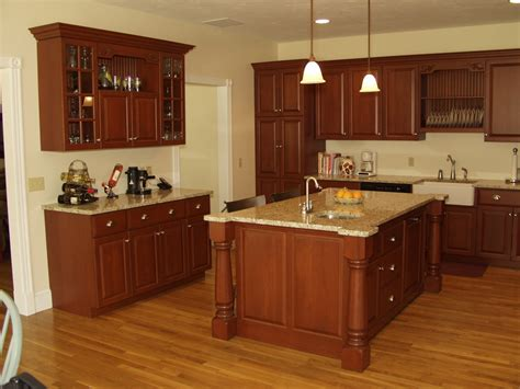 kitchen quartz countertops with oak cabinets cabinets with