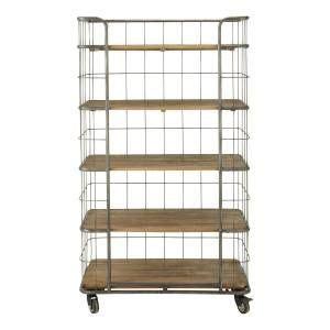 slaapkamer l industrieel industriele boekenkast trolley metal 599 00 wonen at
