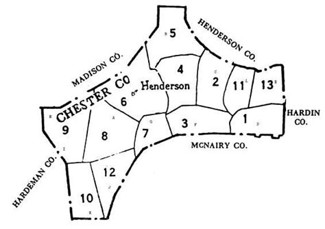 Chester County Section 8 by Henderson County S 104 Mile Contribution To Creation Of