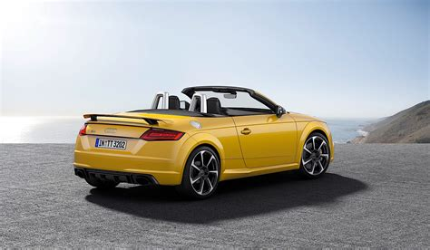 Audi Ttrs Roadster by 2017 Audi Tt Rs Roadster And Coupe Bow In Beijing With 400