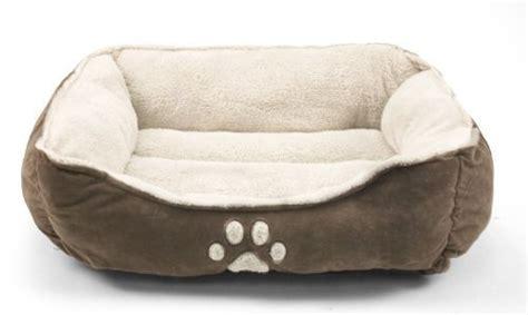 medium sized dog beds sofantex pet line medium size pet beds paw print dark coffee