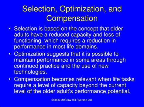 Selective Optimization With Compensation Essay by Ppt Chapter 18 Powerpoint Presentation Id 639651