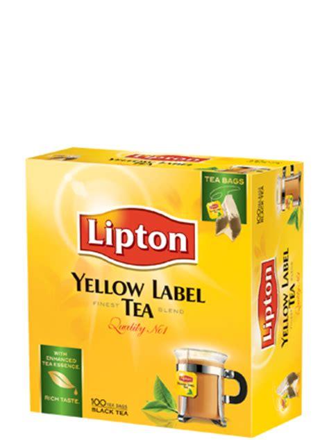 Lipton Yellow Label 100 Sachet lipton yellow label black 100 sachet tea coffee gomart pk