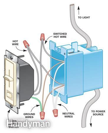 how to install dimmer light switch how to install dimmer switches the family handyman