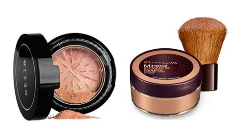 Stila Set Bronze Baked Powder Trio you tried all these textures of bronzers wheretoget
