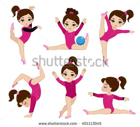clipart ginnastica gymnastics stock images royalty free images vectors