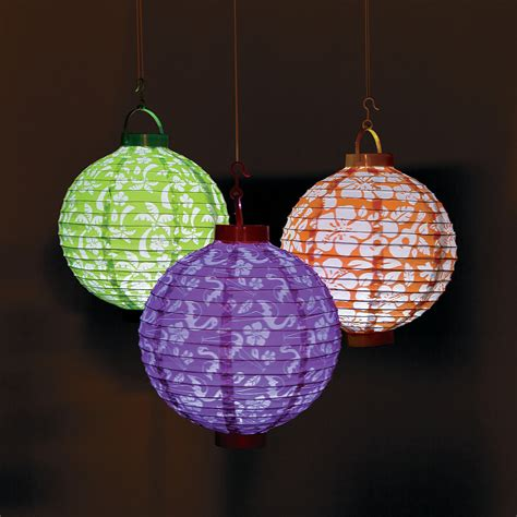 Light Up Paper Lanterns by Luau Light Up Paper Lanterns Trading