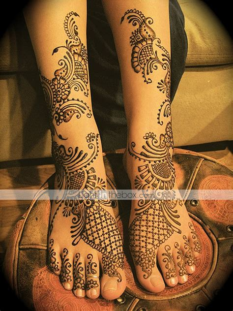 professional henna tattoo kits 1pcs templates henna stencils for