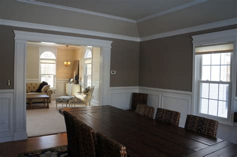 Dining Room Moulding by Moulding And Trim Traditional Dining Room New York