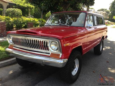jeep chief for sale 1975 jeep wagoneer cherokee chief v8 4x4
