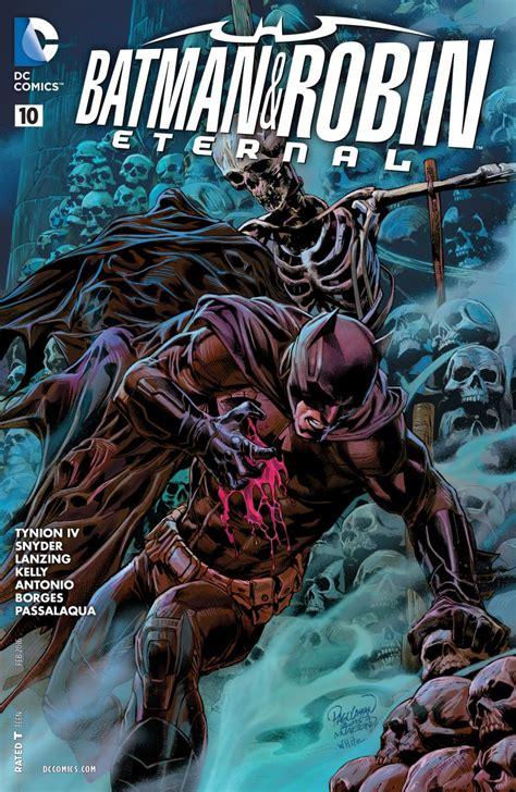 libro batman and robin eternal batman and robin eternal 10 review batman news