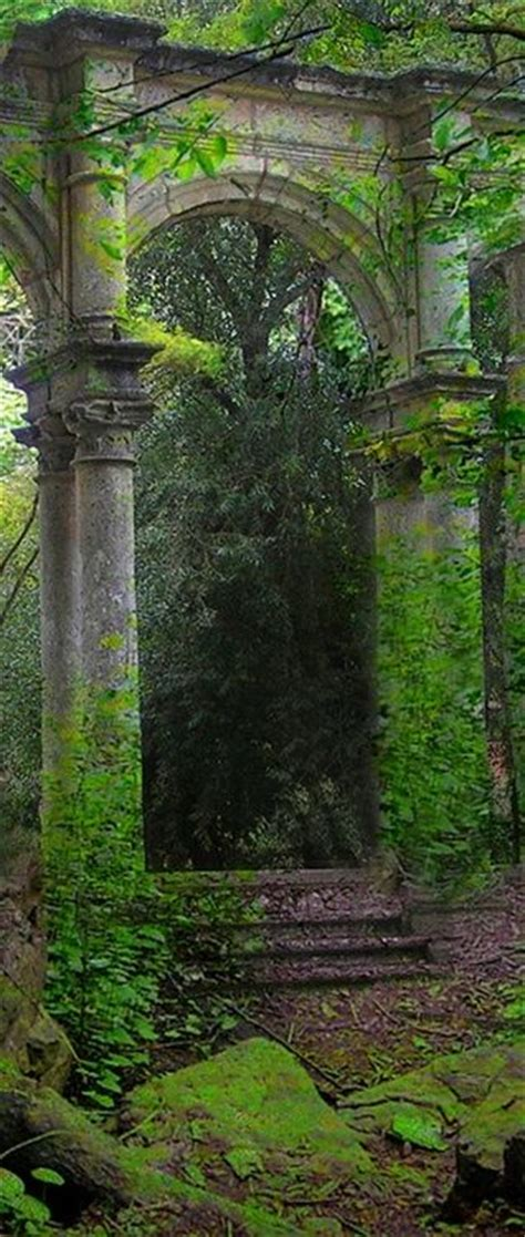 Garden Arch Name Arches Portal And Ruins On