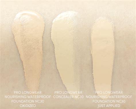 Mac Pro Longwear Foundation mac pro longwear nourishing waterproof foundation review