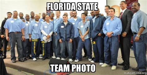 Florida State Memes - florida state team photo make a meme