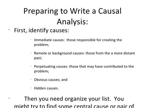 Causal Essay by Causal Essay The Causal Analysis Essay Ayucar