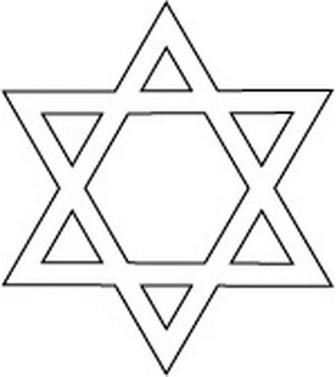 Coloring Page Of Star Of David | hanukkah star of david coloring pages family holiday