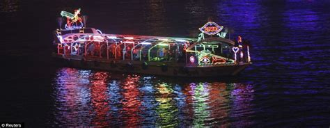 new year race across the river happy new year spectacular pictures show countries across